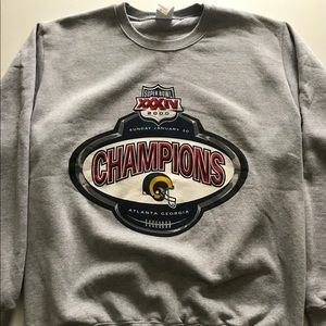 Rams Super Bowl Sweater